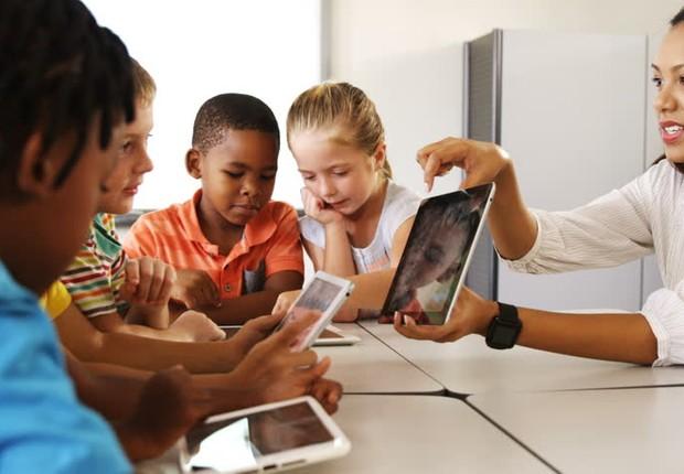 A pesquisa, de abrangência nacional, mostra a apropriação das tecnologias da informação e comunicação pelas escolas brasileiras (Foto: Getty Images)