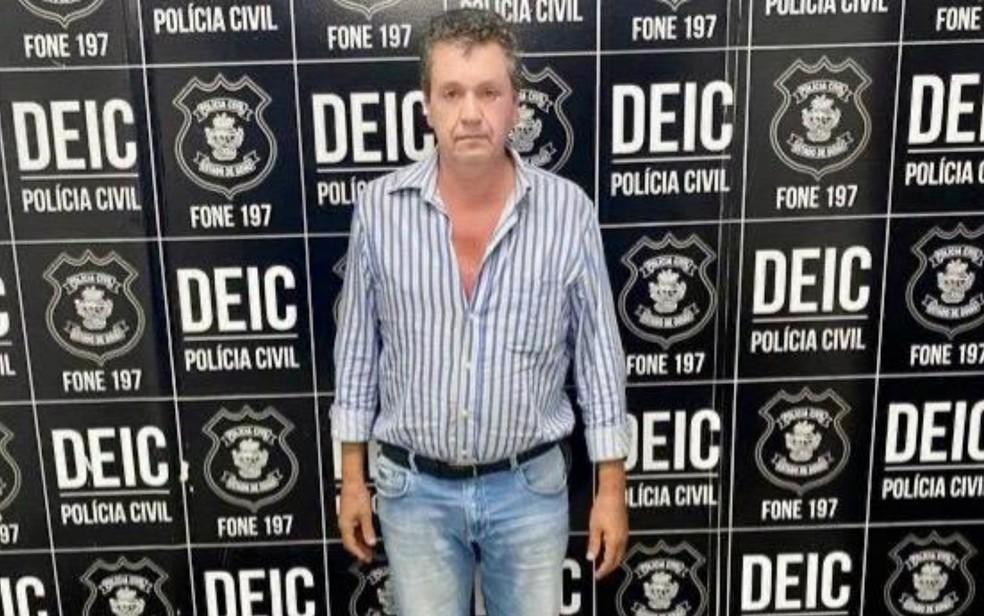 Jucelino Pinto Fonseca foi preso suspeito de envolvimento na morte de Lilian de Oliveira — Foto: Polícia Civil/Divulgação