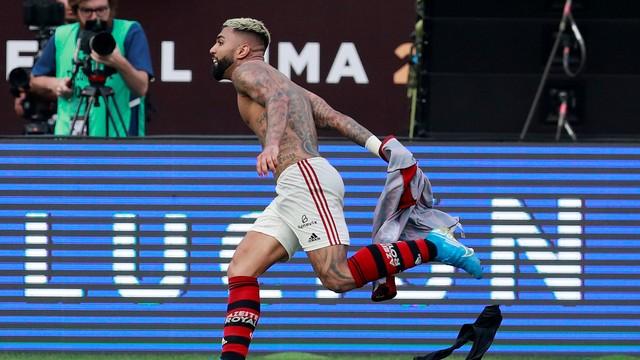 Gabigol terminou como artilheiro da Libertadores com 9 gols