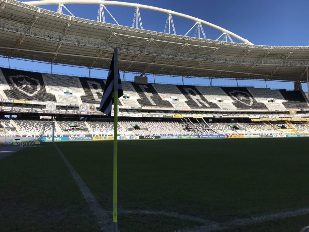 Fator casa foi pouco aproveitado pelo clube — Foto: Divulgação/Botafogo