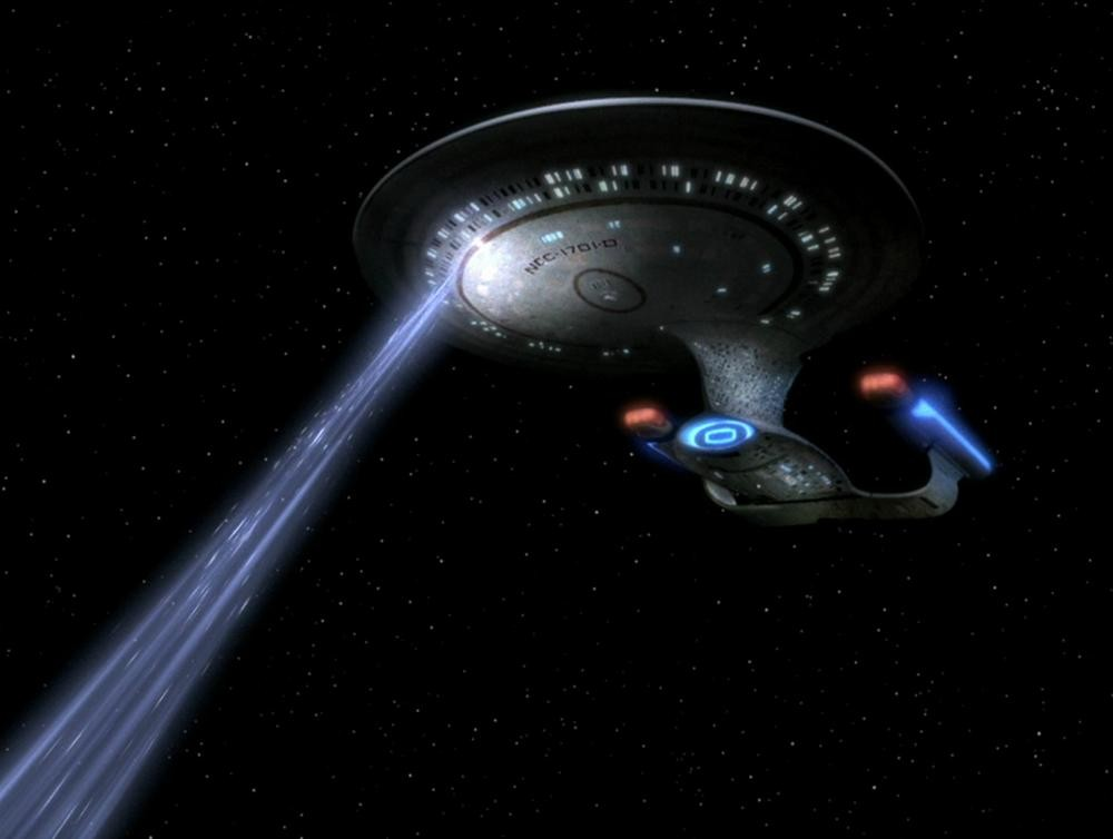 Em última instância, tecnologia é a mesma utilizada pelas naves espaciais de Star Trek (Foto: Reprodução)