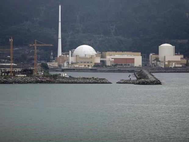 Vista do complexo nuclear de Angra dos Reis, em foto de arquivo. (Foto: REUTERS/Ricardo Moraes/Files)