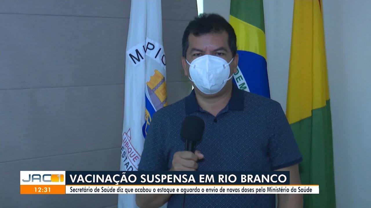 Vacina para idosos acaba em Rio Branco e Semsa suspende imunização