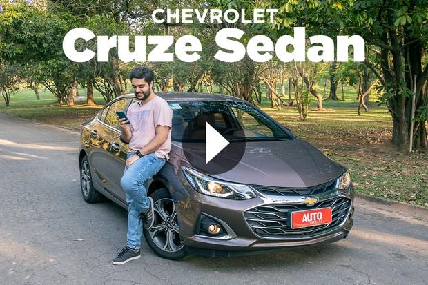 Vídeo: Chevrolet Cruze sedã (Foto: Marcos Camargo / Autoesporte)
