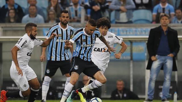 Grêmio venceu o Atletico-MG por 2 a 0