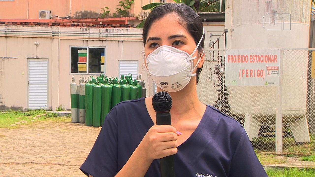 Médica de Manaus fala sobre falta de oxigênio em hospital