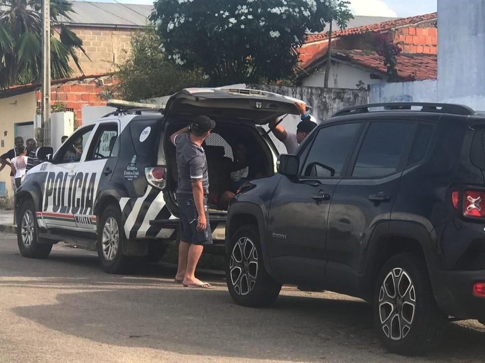 Bando preso com explosivo é ligado à facção criminosa com atuação em todo o país, diz polícia — Foto: Melquíades Júnior/SVM