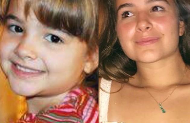 Sofia Terra viveu Carolina, uma menina problemática. A atriz participou também de novelas como 'Pé na jaca' (2006) e 'Cordel encantado' (2011). Atualmente, faz faculdade de Nutrição (Foto: TV Globo - Reprodução/Instagram)