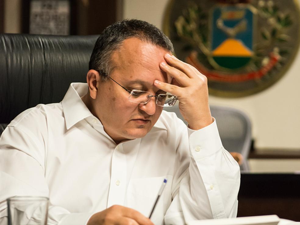 O governador Pedro Taques (PSDB) negou ter recebido as denúncias do ex-secretário (Foto: José Medeiros/Gcom MT)