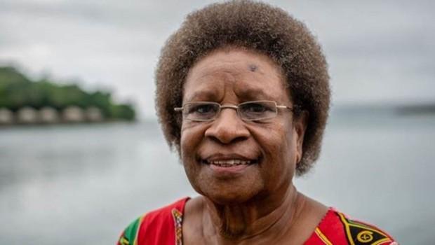 'Os homens decidem tudo em Vanuatu', diz Hilda Lini (Foto: CHRIS MORGAN/BBC)
