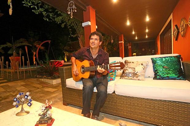 Jorge Vercillo (Foto: Reginaldo Teixeira / Ed. Globo)
