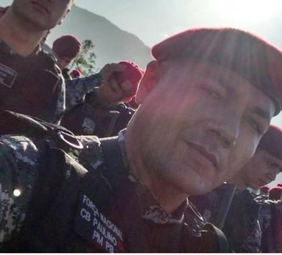 Policial militar é morto a tiros em Malta, no Sertão da Paraíba — Foto: Divulgação/Polícia Civil