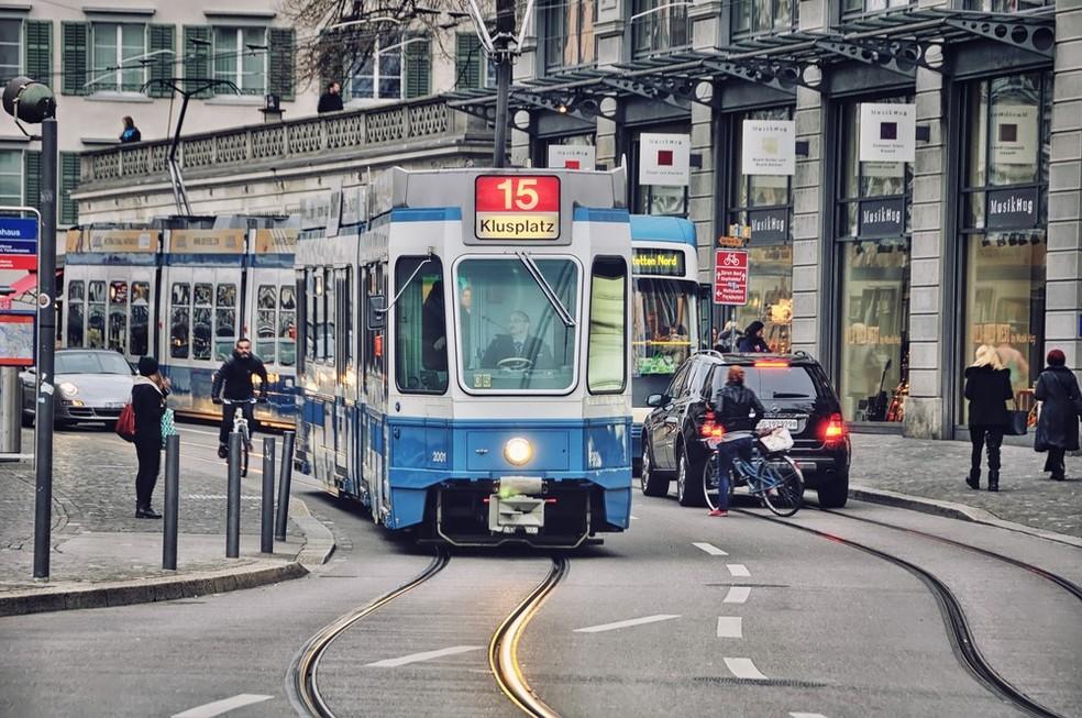 Zurique, na Suíça  (Foto: Divulgação)