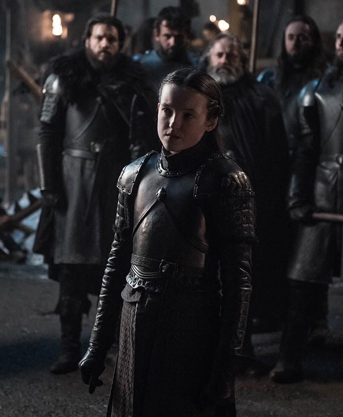 Apesar da pouca idade, Lyanna Mormont é uma das personagens mais fortes da série (Foto: Divulgação)