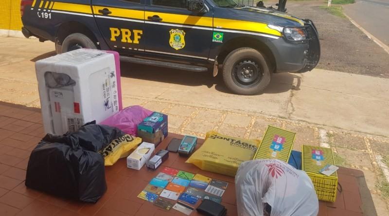 Casal suspeito de golpes é preso com 17 cartões de crédito no Sul do Piauí