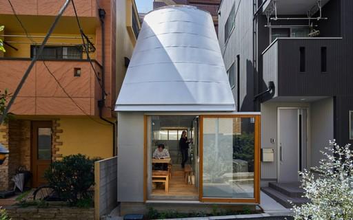 Casa de arquiteto em Tóquio é construída em apenas 19 m²
