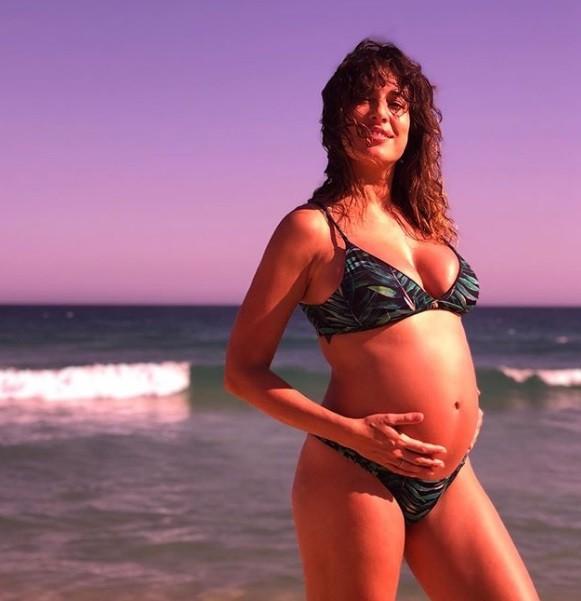 Giselle Itié, grávida de um menino (Foto: Reprodução/Instagram)