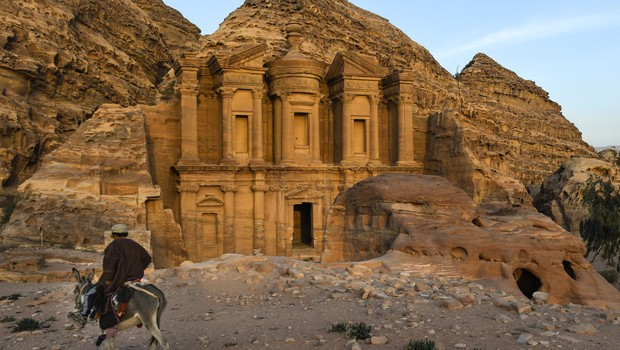 Petra, Jordânia (Foto: Getty Images)