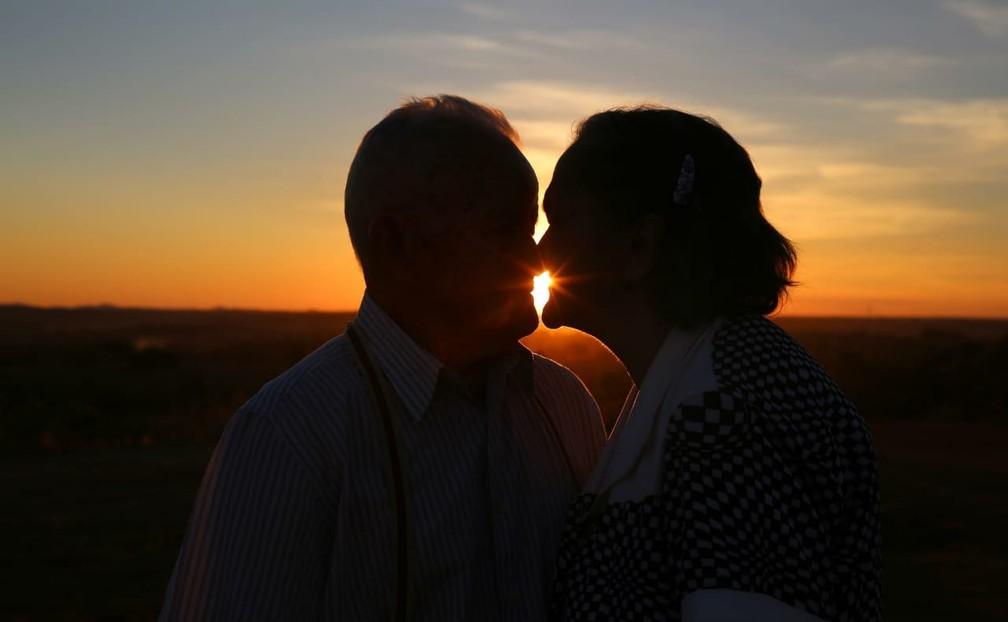 Idosos completam 63 anos de casados (Foto: Ednan Cavalcanti/Divulgação)