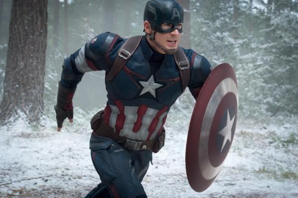 Capitão América (Chris Evans) em ação (Foto: Divulgação)