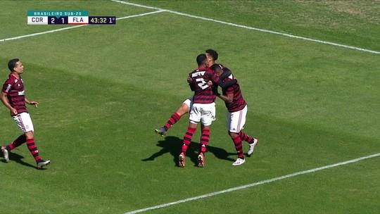 Corinthians e Flamengo empatam por 2 a 2; veja os gols