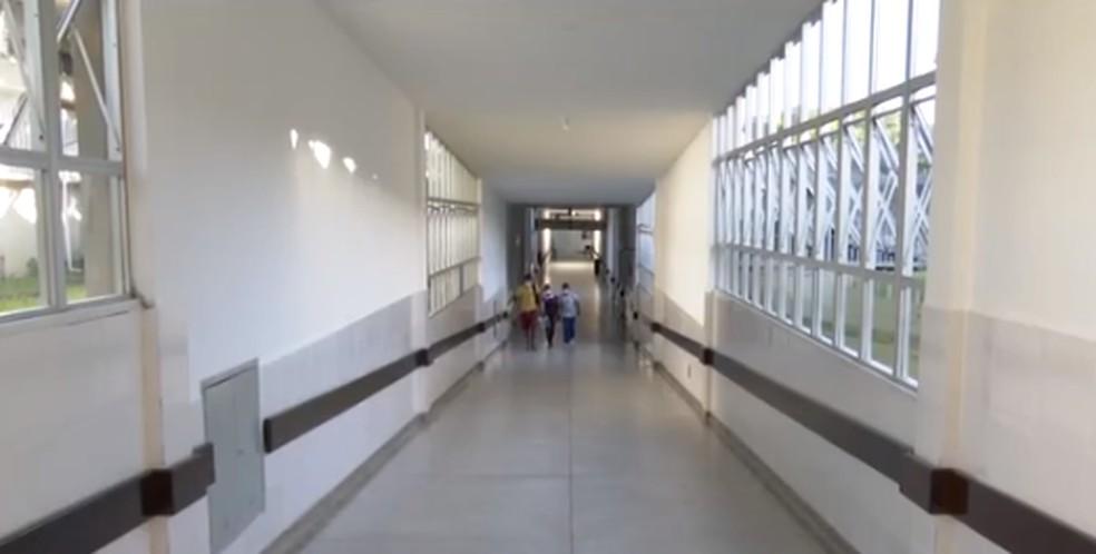 Hospital de Base, em Itabuna — Foto: TV Bahia