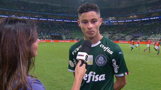 Diogo Barbosa acredita que sequência de vitórias coloca torcedores ao lado do Palmeiras novamente