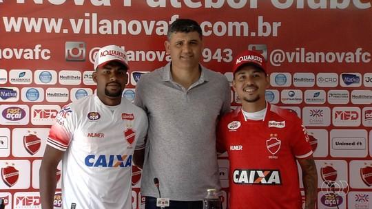 De volta ao Vila, Tiago Cametá aponta evolução no clube; Capixaba quer rápida adaptação