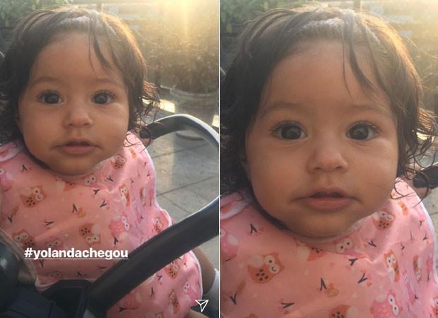 Yolanda, filha de Juliana Alves (Foto: Reprodução/Instagram)