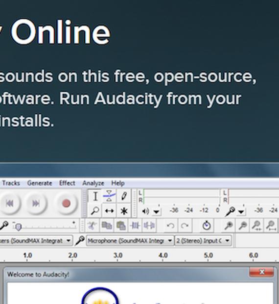 Audacity | Download | TechTudo