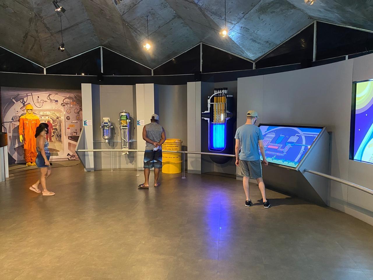 Em uma live, também será possível conhecer o observatório nuclear em Angra dos Reis (Foto: Divulgação)