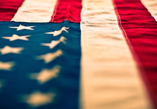 PIB dos EUA ; bandeira dos EUA ; economia americana ; Estados Unidos ; crescimento dos EUA ; mercado americano ;  (Foto: Reprodução/Facebook)