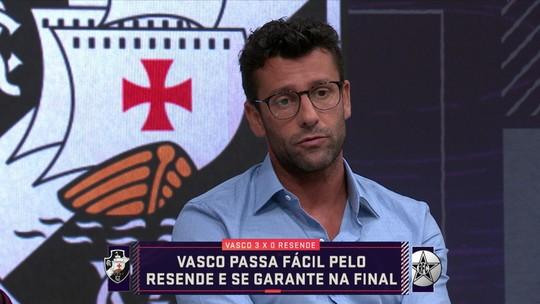 """Valentim destaca pés no chão após bom início de ano do Vasco: """"Não estamos nos iludindo"""""""