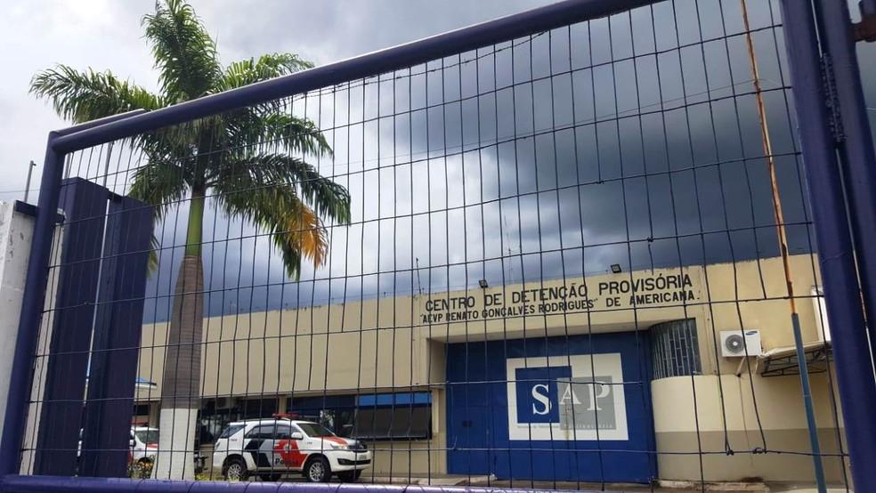 CDP de Americana teve duas mortes de trabalhadores, segundo SAP — Foto: Paulo Augusto / EPTV