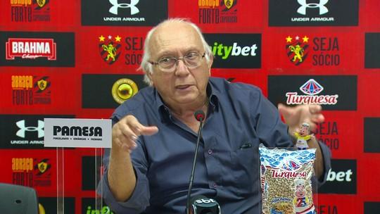 """Após desabafo de jogadora, presidente do Sport diz: """"Se voltar a estrutura que tinha, ela terá que sair"""""""
