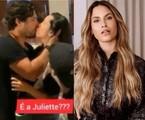Juliette e o empresário Frederico Perusin e Sarah | Reprodução/ Instagram