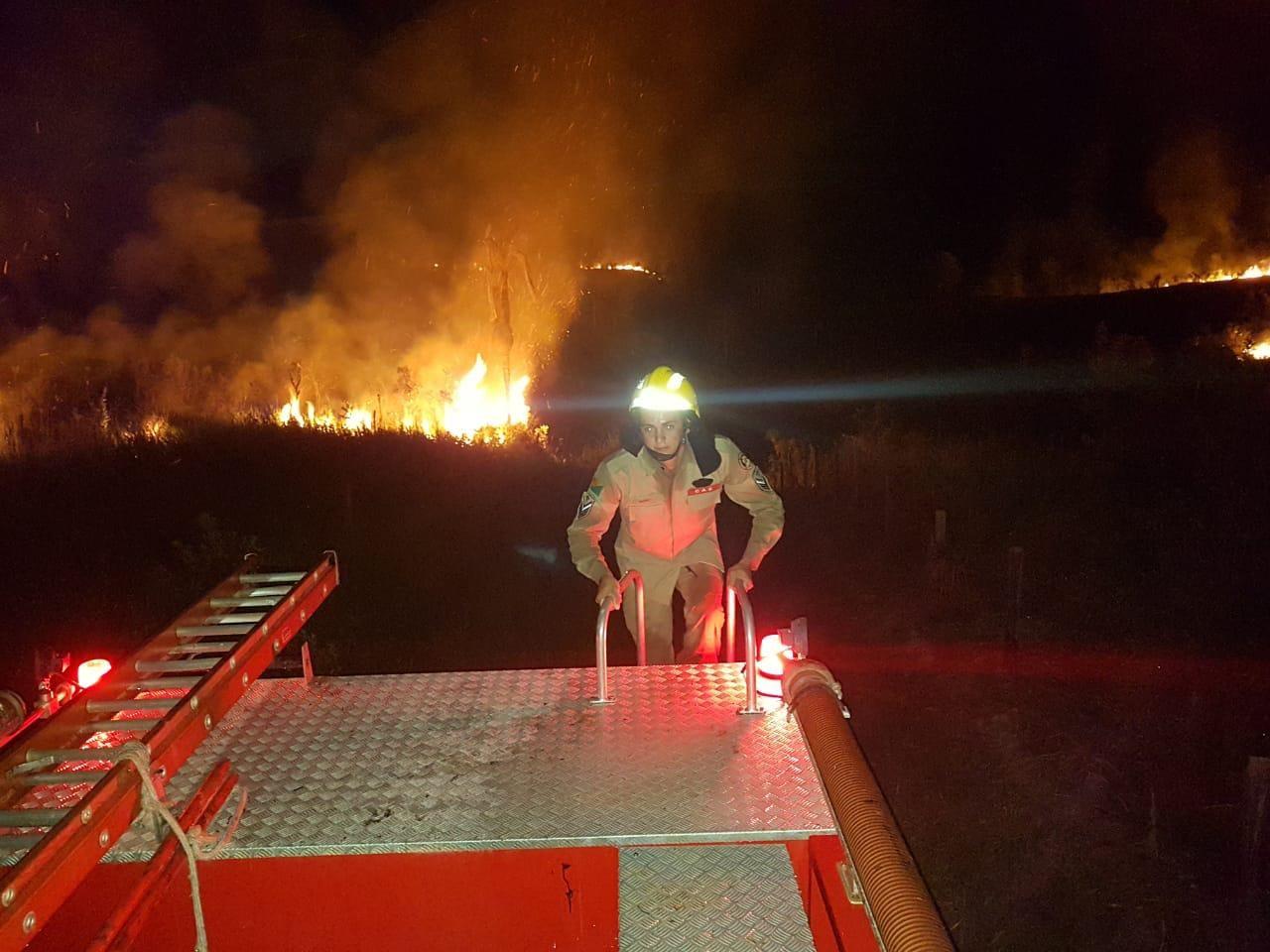 Incêndio destrói sete hectares de pastagem no interior do Acre
