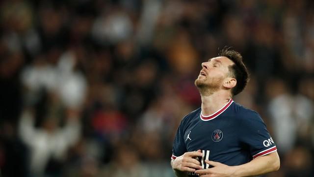 Messi passou em branco no primeiro jogo pelo PSG em casa