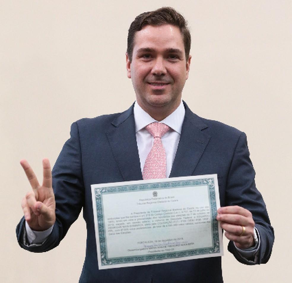 Deputado Eduardo Bismarck (PDT) — Foto: Saulo Roberto/SVM