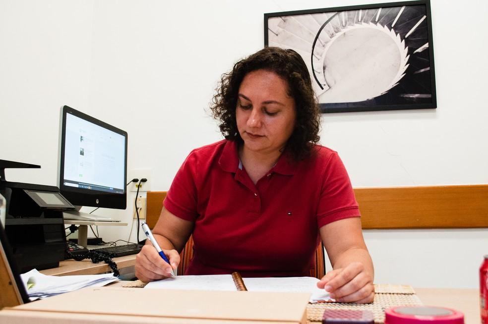 Carolina Marcelino, que ganhou o prêmio Marie Curie Fellow, um dos principais reconhecimentos da ciência a jovens pesquisadores — Foto: Divulgação Coppe/UFRJ