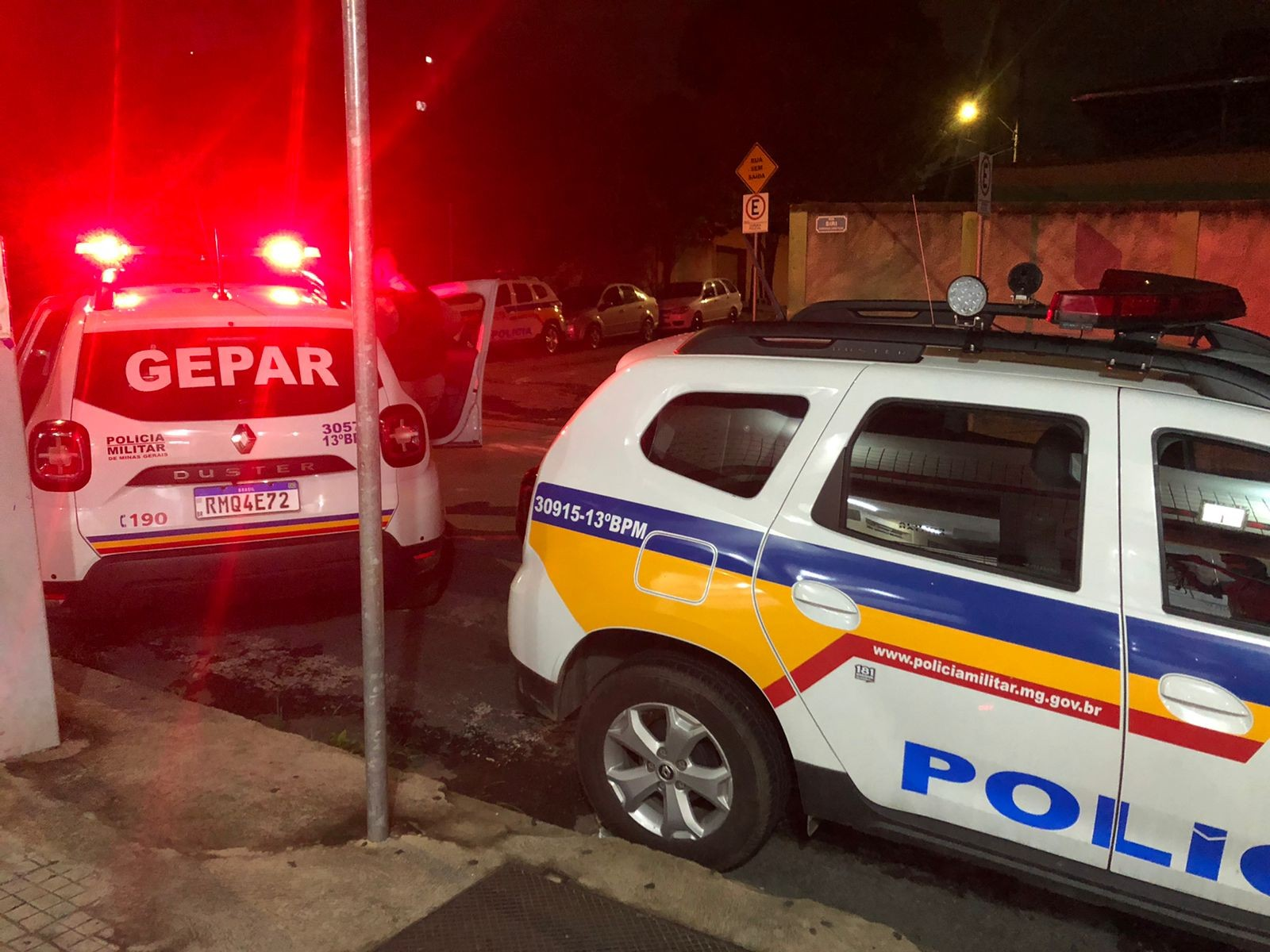 Suspeitos são presos após assalto a pizzaria e perseguição em BH