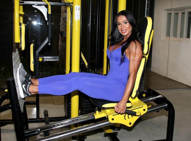 Gracyanne Barbosa (Foto: Thiago Duran/AgNews)