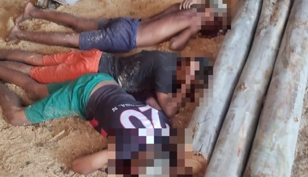 Um dos casos aconteceu na sexta-feira (15), no Residencial Nova Vida, área do Andiroba, onde ocorreu uma chacina.  — Foto: Divulgação