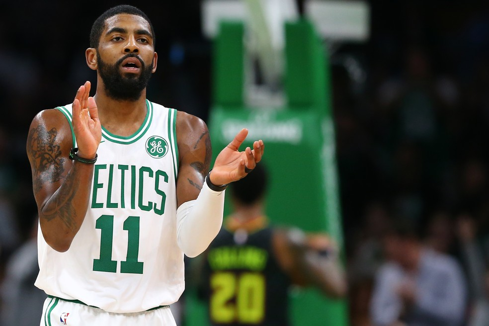 Kyrie Irving Boston Celtics — Foto: Maddie Meyer/Getty Images
