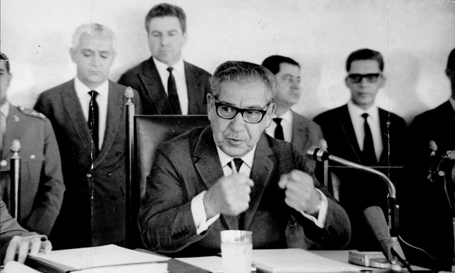 Artur da Costa e Silva, segundo presidente da ditadura militar, em setembro de 1967