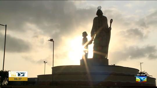 Monumento sofre pela falta de manutenção em São José de Ribamar
