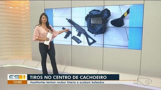 Dois suspeitos são baleados em tentativa de assalto a agência bancária em Cachoeiro, ES
