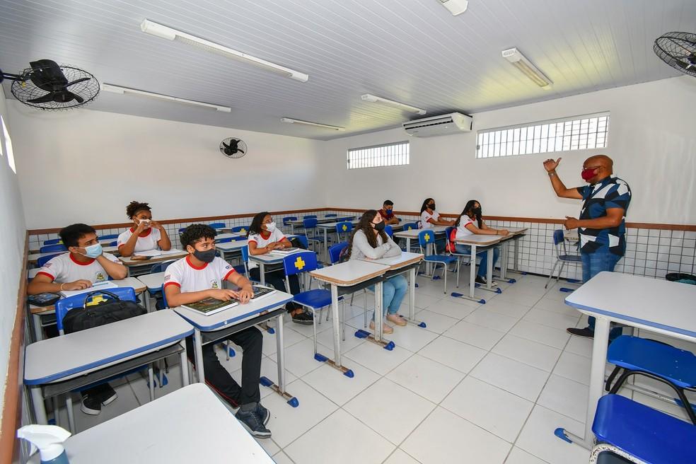 Maranhão começa a aplicar provas para avaliar qualidade da educação nesta segunda-feira — Foto: Divulgação/Governo do Maranhão