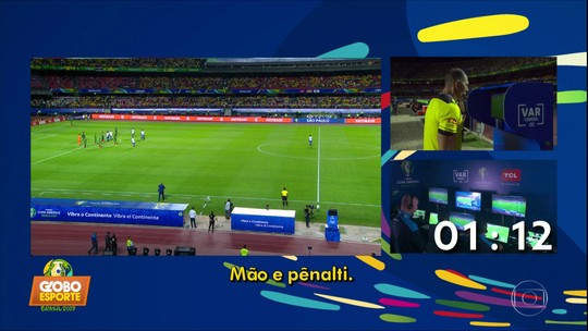 Veja como foi o diálogo do árbitro com a equipe do Var no jogo da Seleção