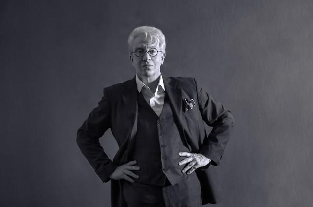 Eduardo Martini como Clodovil (Foto: Cláudia Martini)